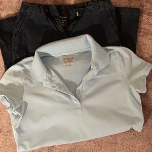Girl's Uniform Set